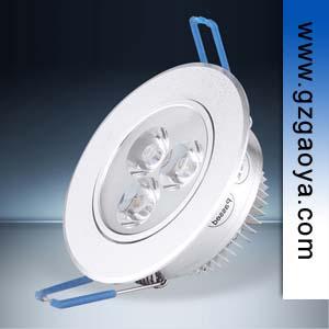 高雅照明 GOYA 3W LED天花灯 筒灯 可调角度