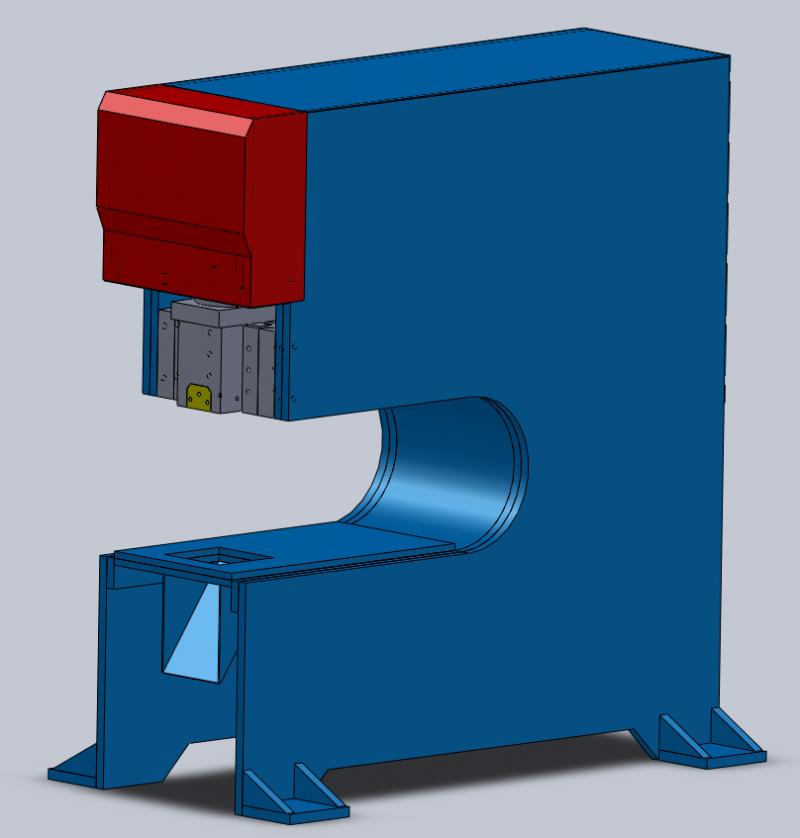 液压冲床 自动送料机
